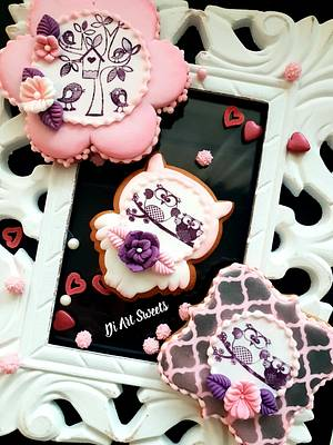 Fall in love Together!💌💌💌 - Cake by DI ART
