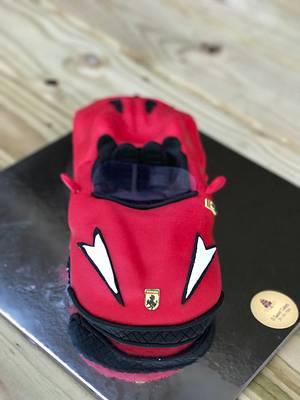 Ferrari cake - Cake by Osweetcakes