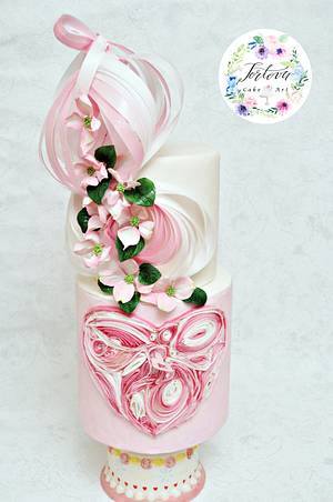 Blooming Love - Cake by Anna
