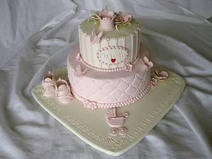 Pink selabration  - Cake by Trine Skaar