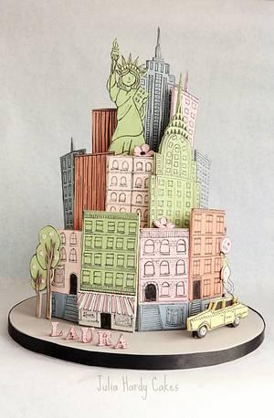 New York Themed Cake - Cake by Julia Hardy