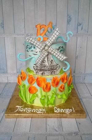 Tail-wind...:) - Cake by BULGARIcAkes