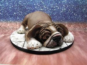 Wonderfull Bulldog - Cake by Eddy Mannak