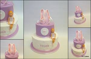 Tippy toes - Cake by Nikki