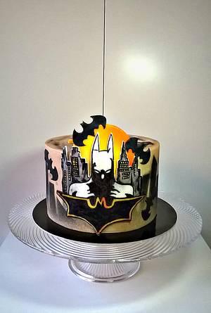 Batman cake - Cake by Frufi