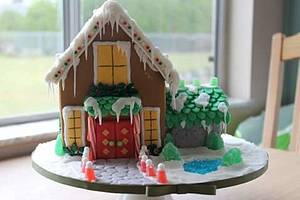 North Port gingerbread contest. 2015 - Cake by Samantha Corey