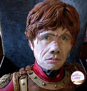 Tyrion Lannister - Cakes International 2015 - Cake by Calli Creations