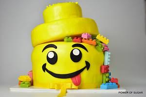 LEGO cake - Cake by Power Of Sugar