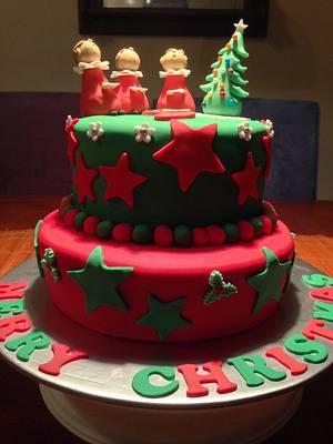 Christmas Boys Choir Cake - Cake by Sweet Creative Cakes by Jena