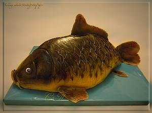 Cake in the form of fish - Cake by Svetlana