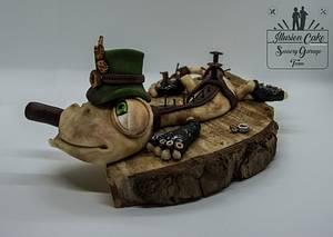 GEKO - Cake by IllusionCake