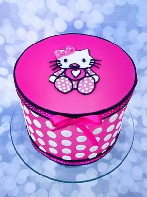 Hello kitty baby shower - Cake by Trickycakes