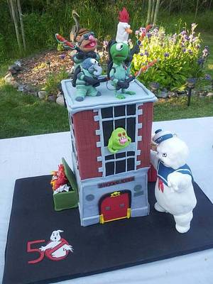 Ghostmuppers Cake - Cake by Miranda