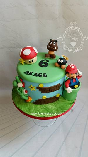 Super mario - Cake by Love it cakes