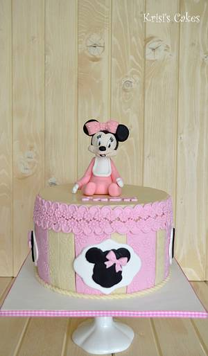 cake minnie mouse - Cake by KRISICAKES