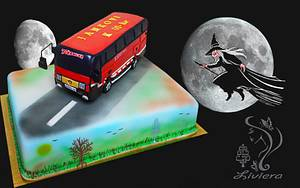 birthday cake for bus driver - Cake by LiViera