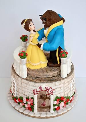 Beauty and the Beast Cake - Cake by Albena Nacheva