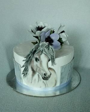 Cake with horse - Cake by Anka