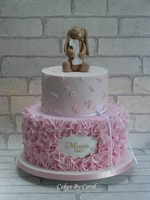 Jellycat & Ruffles 1st Birthday - Cake by Carol