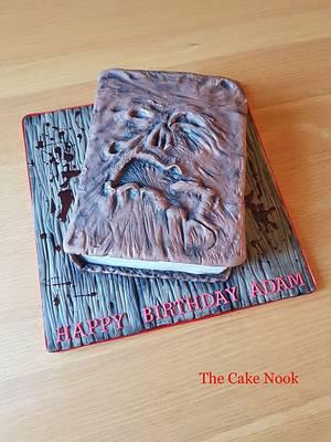 🧟♀️ Evil Dead, Necronomicon Book Cake. 🧟♀️ - Cake by Zoe White