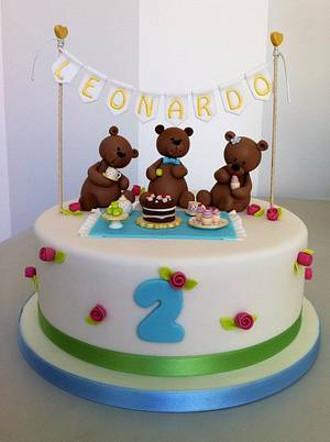 Teddy Bears' Picnic Cake - Cake by Bella's Bakery