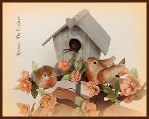 Spring is in the Air 2018 Collaboration  - Cake by Karen Dodenbier