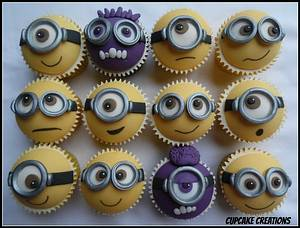 Minion Cupcakes - Cake by Cupcakecreations