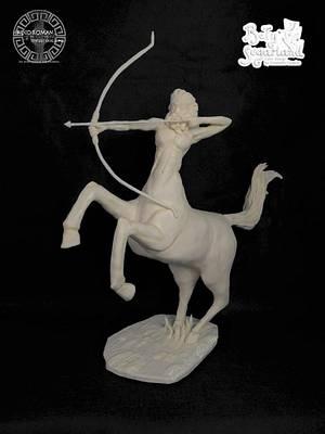 Centaur - Greco Roman Challege - Cake by Bety'Sugarland by Elisabete Caseiro