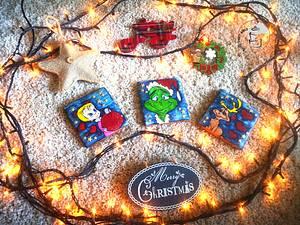 Grinch Family  - Cake by Katarzyna Rarok