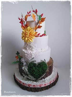 Wedding cake :)  - Cake by Zuzana Kmecova