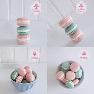 💕 Pastell - Macarons 💕 - Cake by Carolinchens Zuckerwelt