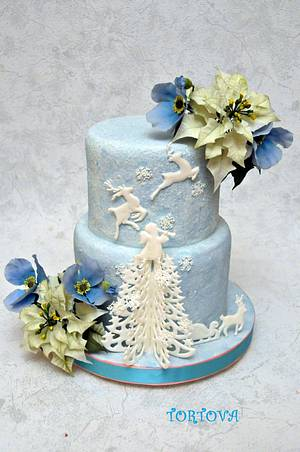I Love Christmas))) - Cake by Anna