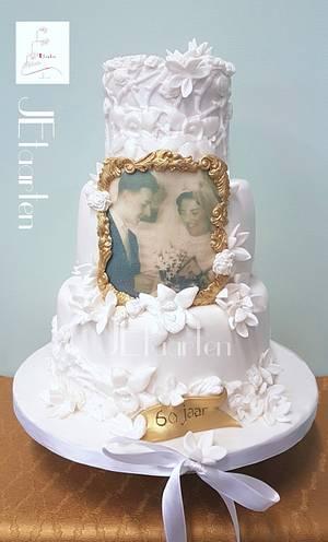 60 years of love - Cake by Judith-JEtaarten