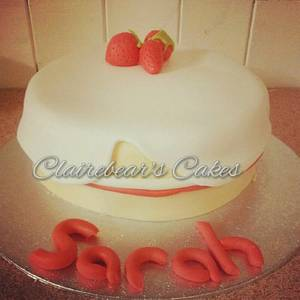 Victoria Sponge - Cake by ClairebearsCakes