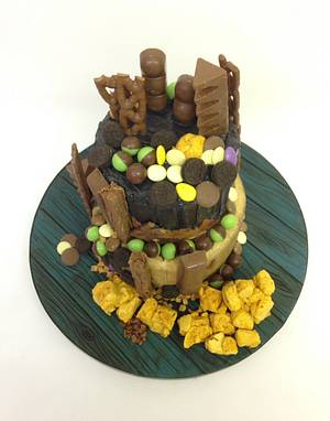 Chocolate Canyon Cake - Cake by Carter Valentino Ltd