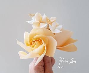 Modern rose - Cake by Maira Liboa