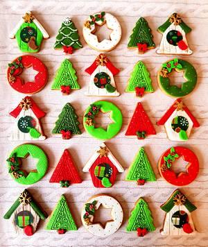 Christmas cookies 🎄 - Cake by DI ART