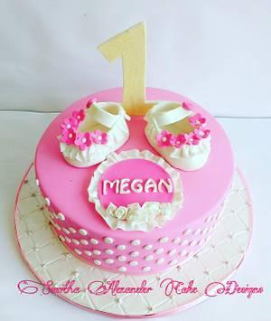 A pink affair - Cake by Savitha Alexander