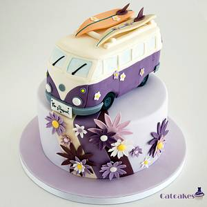 Van Wolsvagen cake - Cake by Catcakes