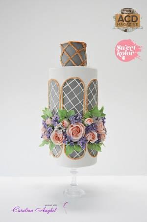 Secret Garden #ACDMagazine wedding cake - Cake by Catalina Anghel azúcar'arte