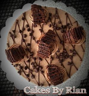 Chocolate Brownie Cake - Cake by Cakes By Rian