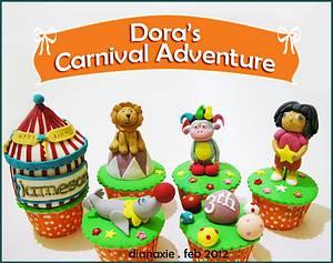Dora's Carnival Adventure - Cake by Diana