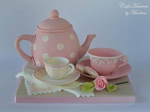 Afternoon Tea Cake for Mother's Day - Cake by CakeHeaven by Marlene