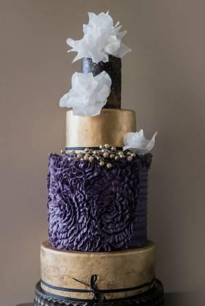 Romantic ruffle - Cake by Christine