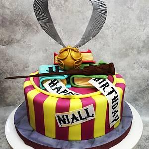 Harry Potter cake  - Cake by Claire Potts