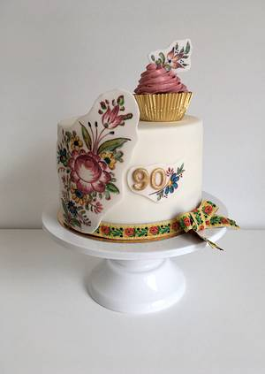 Folk cake - Cake by Luckapece