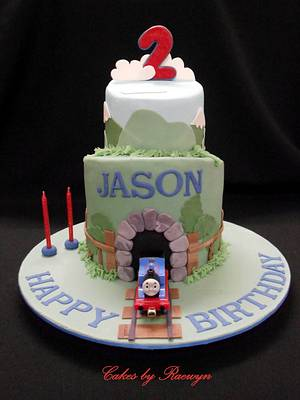 Thomas the Tank Engine for Jason - Cake by Raewyn Read Cake Design