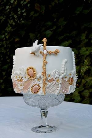 Confirmation cake - Cake by Katarzynka
