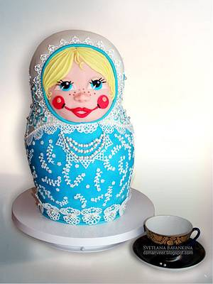 Russian doll - Cake by ccmanveer