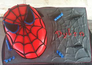 Spiderman! - Cake by Jacque McLean - Major Cakes